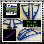 2014-2019 Rzr Xp1000 2/4 Seat Arched Hd Chromoly Lower A-arms W/ball Joints Blue