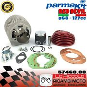 Thermal Unit Parmakit Racing Red Vespa Px 125 150 177cc ø63 Connecting Rod 105