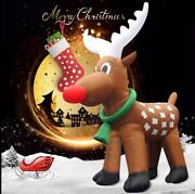 26and039 Inflatable Reindeer Christmas Holiday Decoration Most Popular Design
