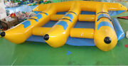 Inflatable Fly Fish Boat For 6 Persons Slide Sled Banana Boat Water Game T