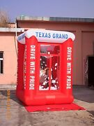 9' Inflatable Cash Cube Money Machine W/blowers Advertising Promotion Your Logo