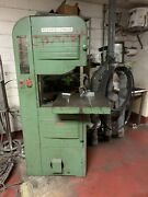 Rockwell Delta Wood Metal Vertical Band Saw 20andrdquo Model 96-329 With Welder Bandsaw