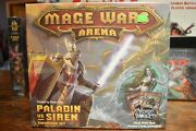 New Mage Wars Academy Expansion Paladin Vs Siren Board Game Brand New Sealed