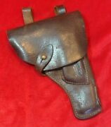 Wwii Soviet Russian Red Army Tt Pistol Leather Holster With Owner Name