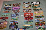 Order Of The Arrow Oa Boy Scouts Lot Of 30 Different Oa Flaps I