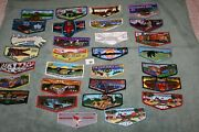 Order Of The Arrow Oa Boy Scouts Lot Of 30 Different Oa Flaps M