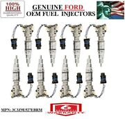8pc Oem Ford For 2004-2007 Ford F-450 Super Duty 6.0l V8 Diesel Injectors