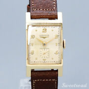 Longines 10kgf Cal.6312 Vintage 1950s Manual Hand Wind Authentic Mens Watch Work