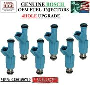 New 4hole Bosch 1987-1989 Ford F-350 4.9l I6 Oem Fuel Injectors For X6
