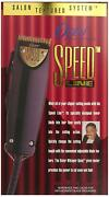 Oster Speed Line Adjustable Gold Blade Clipper 76023-540 W/ 4pc Comb Attachment