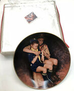 Vintage Norman Rockwell Boy Scouts Plate A Guiding Hand Boy Scouts