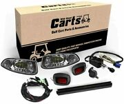 Wild About Carts Ez-go Rxv Led Deluxe Street Legal Light Kit 2008-2015