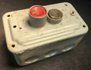 Vtg Art Deco Cutler Hammer Control On/off Switch Off Delta Unisaw. Our 6