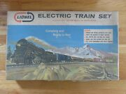 Vintage 60s Lionel Steam Freight W/ Smoke O27 Electric Train 11540 Set In Box