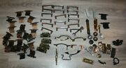 Large Lot Of Furniture/cabinet Drawer Pulls,knobs,hinges For Parts Only