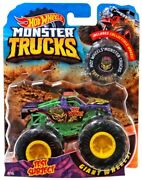New 164 Hot Wheels Monster Jam Monster Test Subject Includes Collectible Wheel