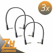 3 X Rockboard Flat Patch Cable 11 13/16in - Patchkabel