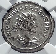Probus Woman Authentic Ancient 280ad Antioch Roman Coin Ngc Certified Ms I81812