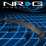 Nrg Innovations 69 Gt Style Real Carbon Fiber Rear Trunk Spoiler Wing Carb-a691