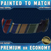 New Painted To Match Rear Bumper Cover Fascia For 2010-2013 Subaru Legacy Sedan