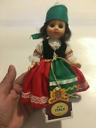 Fishel Dolls Of All Nations Bookshelf Collectables Italy No. 136 Doll