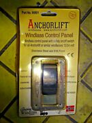 Anchorlift Windlass Up / Down Switch With Ss Panel 90801 New As You See It