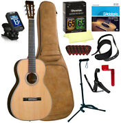 Blueridge Br-361 0-stylez Parlor Body Select All Solid Acoustic Guitar Package