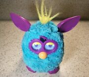 2012 Hasbro Furby Boom Teal Blue And Purple Interactive Talking Singing Moves