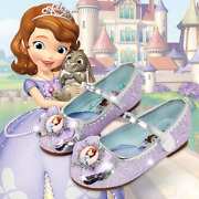 Sofia The First Baby Gilrs Princess Shoes Cinderella Dancing Dress Shoes Soft