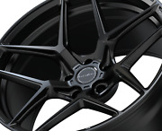 Brixton Forged 20 Wheels For Tesla Model S   Rf7 Black Concave