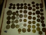 64 - Coin Lot With Old/vintage Coins. German, Engl, Canada More