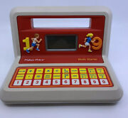 Vintage 1988 Fisher-price Electronic Math Starter 6602 - Tested / Works