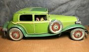 Mettoy | Pre 1946 | 14 Large Limousine | Light Up Headlights | Sun Roof | Spare