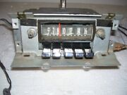 61 1961 Lincoln Stock Factory Radio Good Working. 61 62