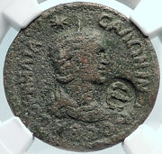 Salonina Wife Of Gallienus Side Pamphylia Ancient Roman Coin Apollo Ngc I81875