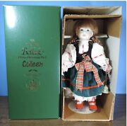"""The First Belleek China Christmas Doll """"colleen"""" Rare Limited Edition 0283 Nib"""
