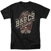Bad Company Vintage Rock N Roll Fantasy Officially Licensed T-shirt