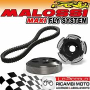 Clutch + Bell Fly System + Belt Malossi Yamaha Majesty 400 4t Lc 2014