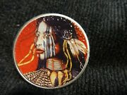 2020 Silver Eagle Colorized American Indian Art This Auction Is For 1 Coin