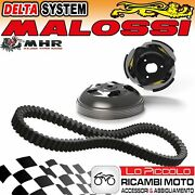 Clutch + Bell Delta System + Belt Malossi Honda Sh I - Scoopy 300 Ie 4t