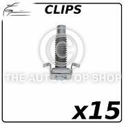 Clips Cowling 11 X 11 Mm Peugeot Range 1007 - Boxer Part 12096 Pack Of 15