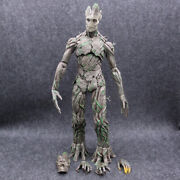 15'' Groot Action Figure 1/6 Treeman Avengers Guardians Of The Galaxy Pvc Toy