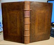 1704 'works Of William Chillingworth' Fine Binding. Christian / Bible / Theology