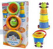 Fisher-price Friendly First's Stack Me Surprise Inside Kids/ Baby/ Todler Cup