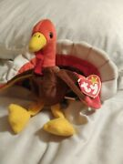 Ty 1996 Gobbles Extremely Rare Free Shipping