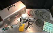 Vintage Sioux Tools 7 Right Angle Air Grinder Model V5243 7000rpm Plus Extras