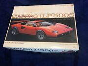 Lamborghini Countach Lp500s Model Car Kit Rare Collectible Hobby Red Fslast One