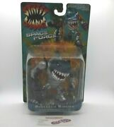 New Vintage Mattel Street Sharks Powerarm Ripster Action Figure Space Force 1996