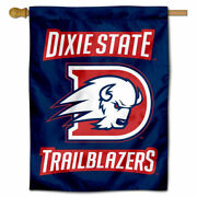 Dixie State University Two Sided House Flag