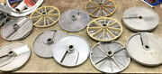 Food Processing Blades Possibly Robo Coupe Lot Of 11